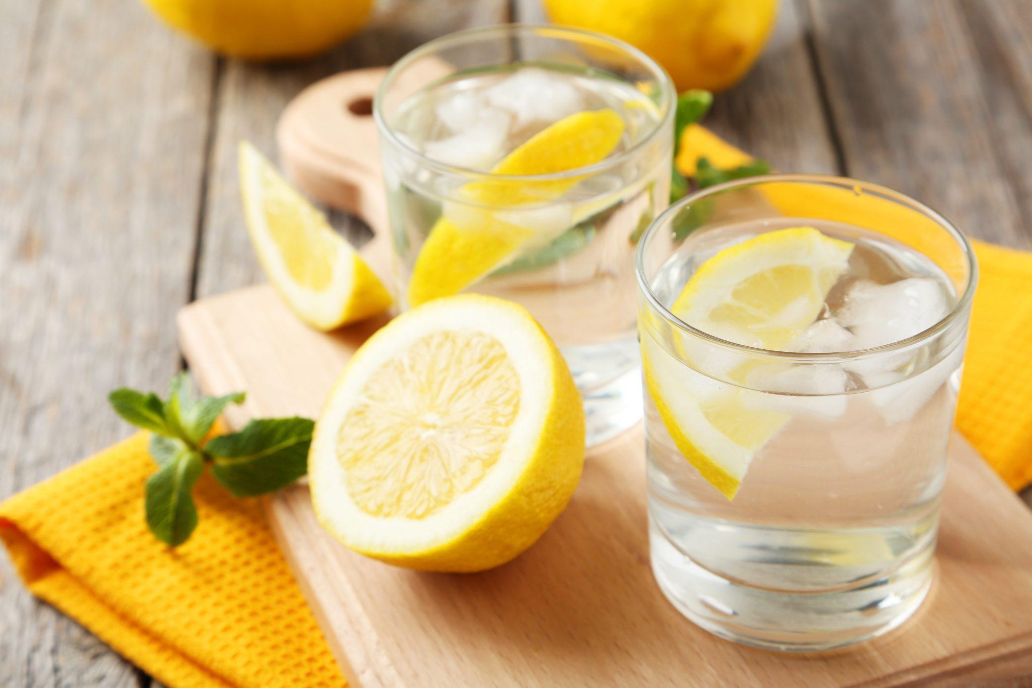 giảm cân bằng vitamin c từ chanh