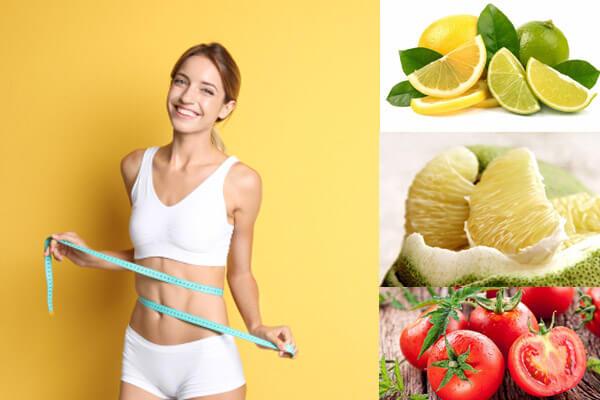 lưu ý khi giảm cân bằng vitamin c tại nhà